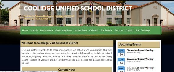 Old CUSD Website