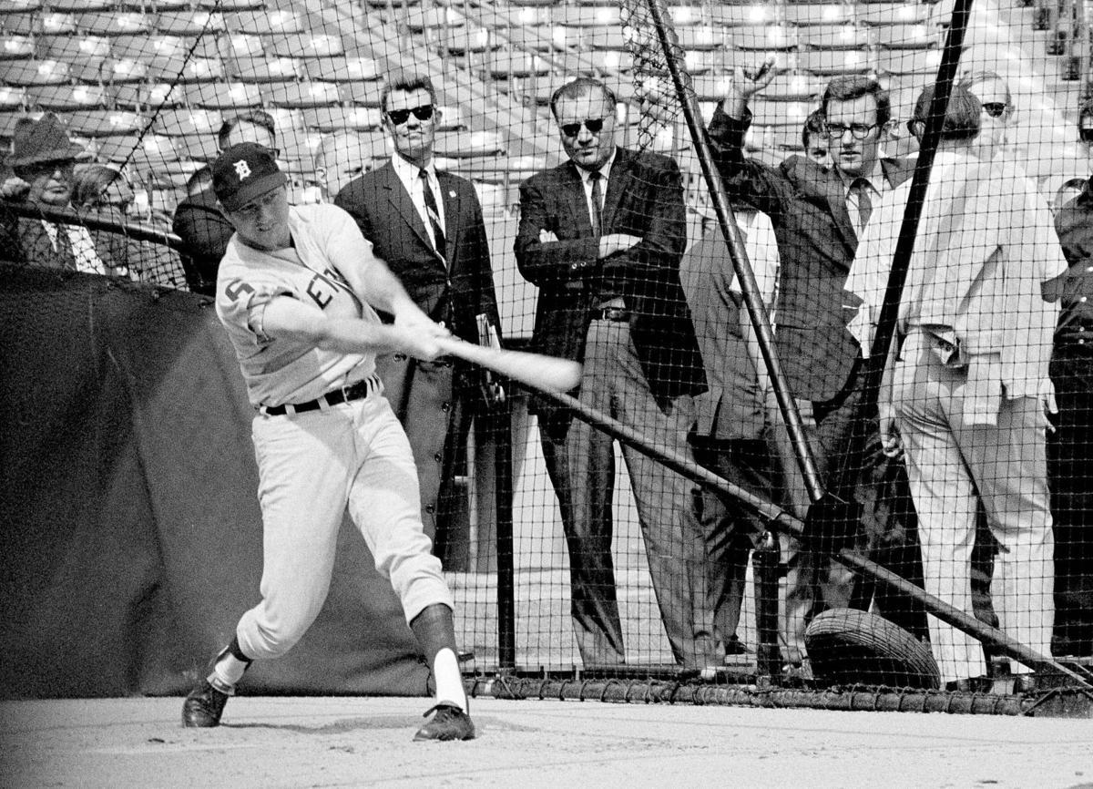 Al Kaline 1968 World Series