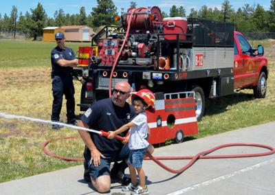 Pinetop firefighters
