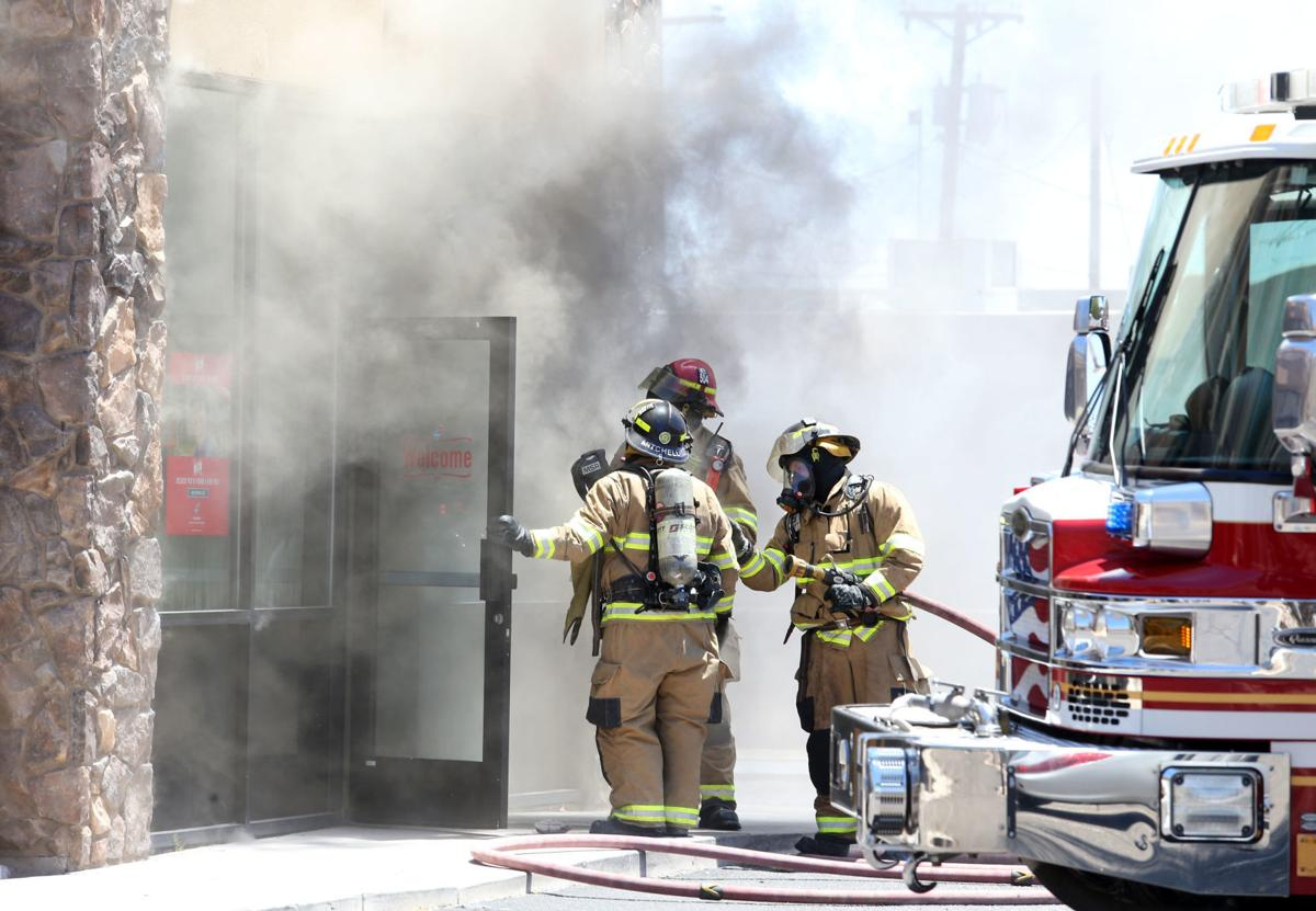 Domino's Fire on Florence Boulevard