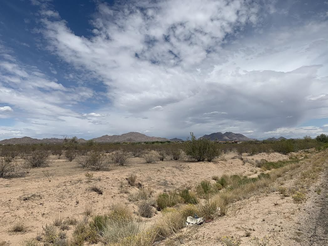 Desert Landscape area west of Pinal