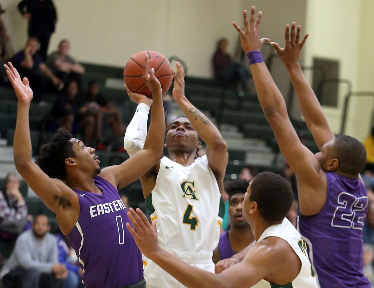 Central vs. Eastern men's basketball