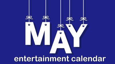May Entertainment calendar logo