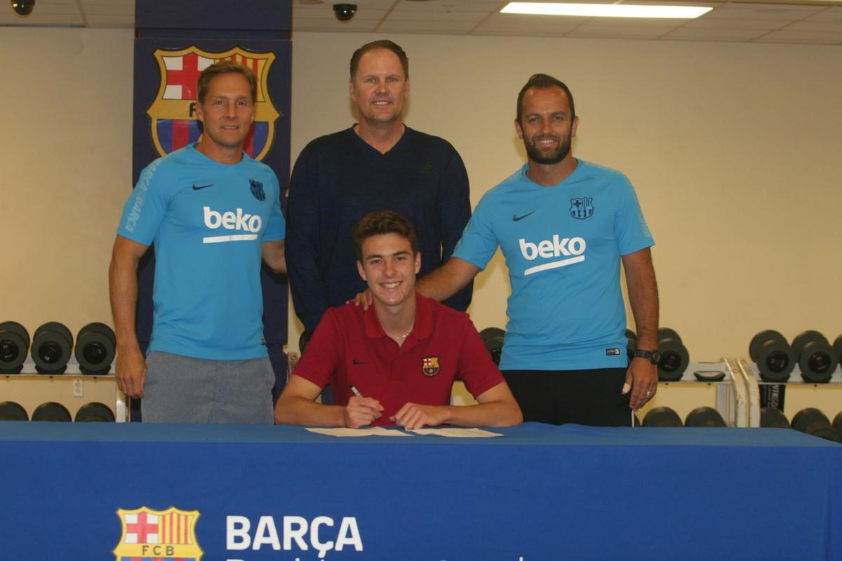 Barca Academy S Top Scorer Moving From Cg To Germany To Go Pro Local Sports Pinalcentral Com