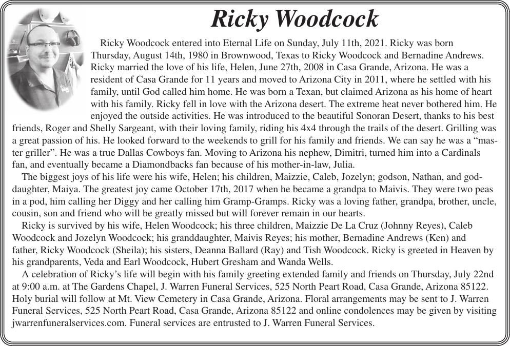 Ricky Woodcock