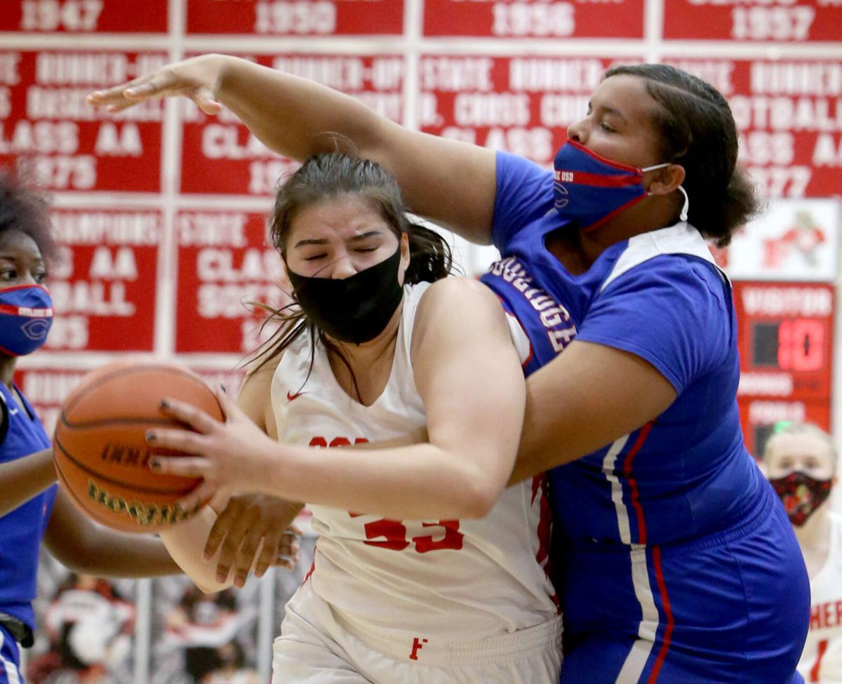 Florence vs. Coolidge girl's basketball