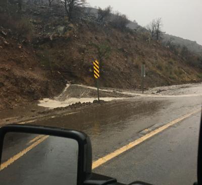 Flooding along SR 177 south of Superior