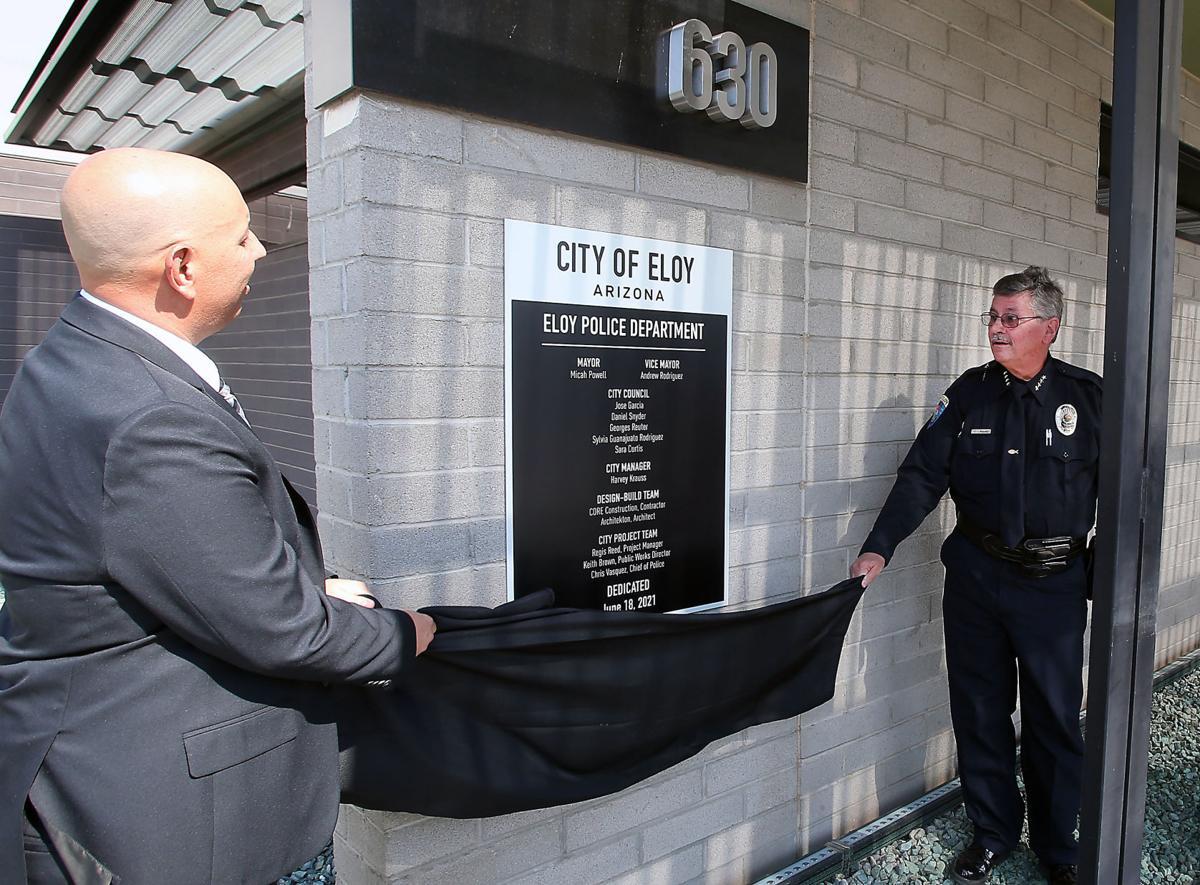 Eloy Police Department Dedication Ceremony