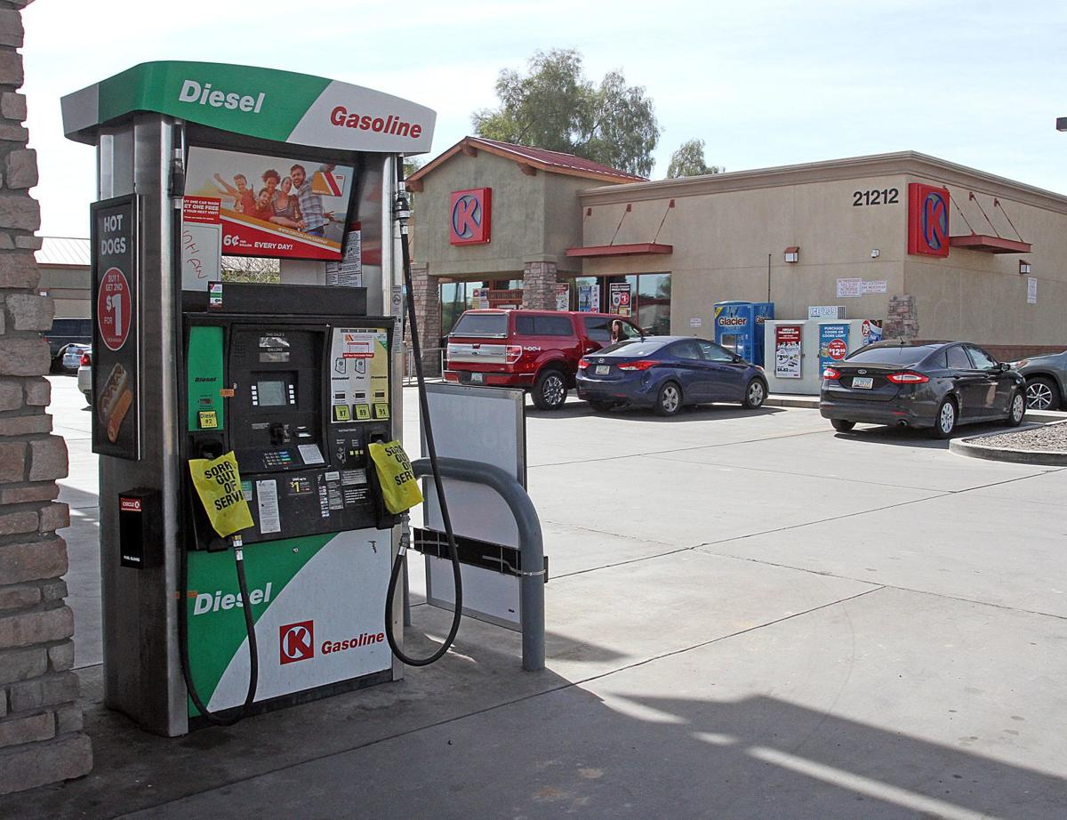 Vehicle shutdowns reported after getting gas at Maricopa