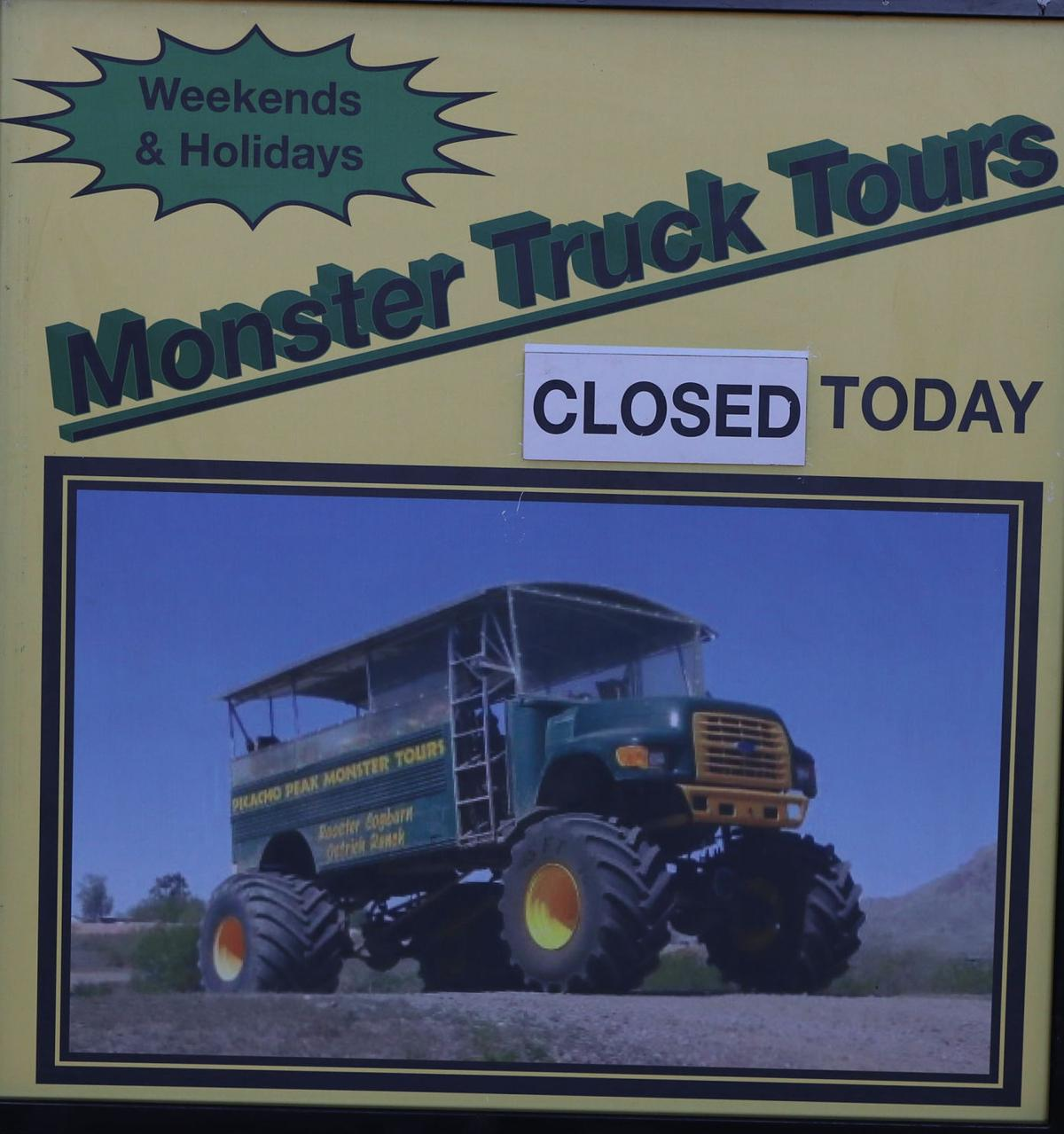 Pinal Ostrich Farm Discontinues Monster Truck Tours After