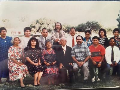 Bruna Almaraz and her family