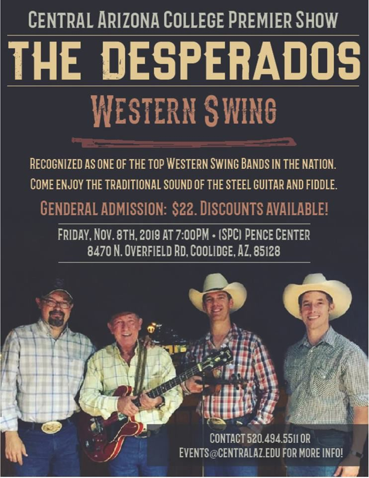 The Desperados Perform Friday At Cac Recreation And Entertainment Pinalcentral Com