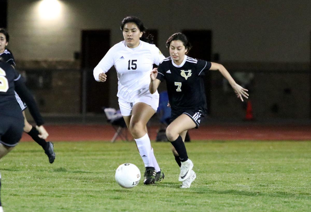 Vista Grande vs. Casa Grande Union girls soccer