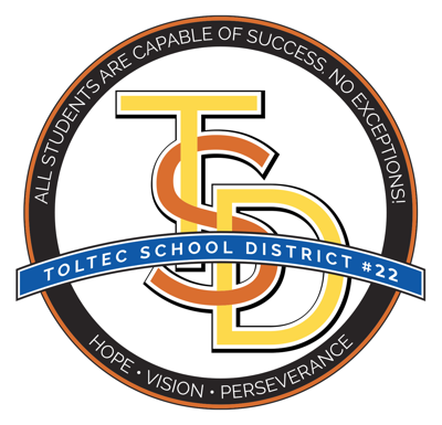 Toltec School District logo (2020)