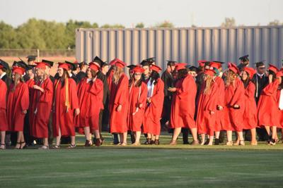 Combs High School graduation