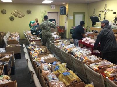 National Guard helps Hope International
