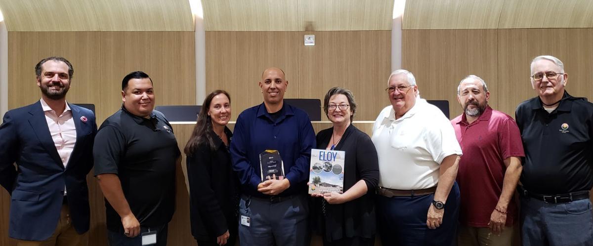 Eloy brochure award