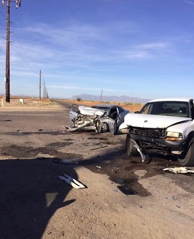 Man dies after collision in San Tan Valley   Local News
