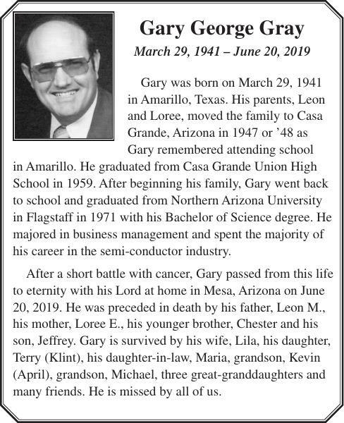 Gary George Gray