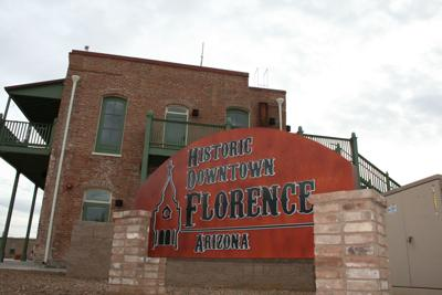 Historic Downtown Florence Sign