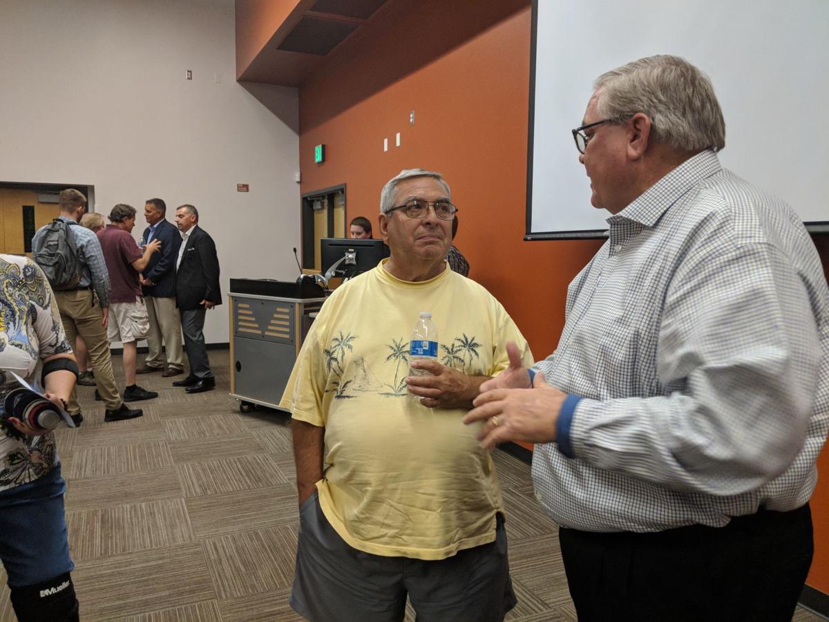 Johnson Utilities meeting