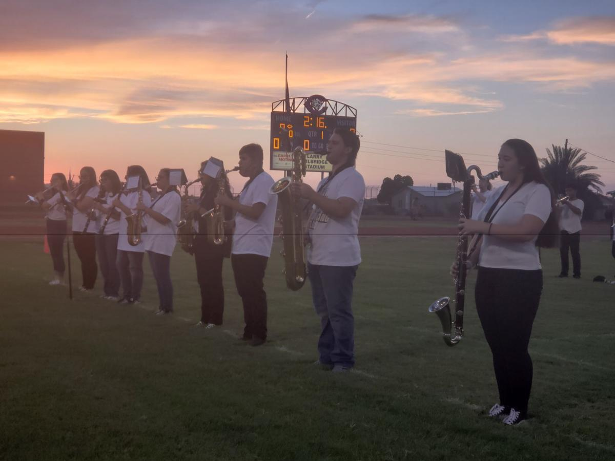 Coolidge High School marching band