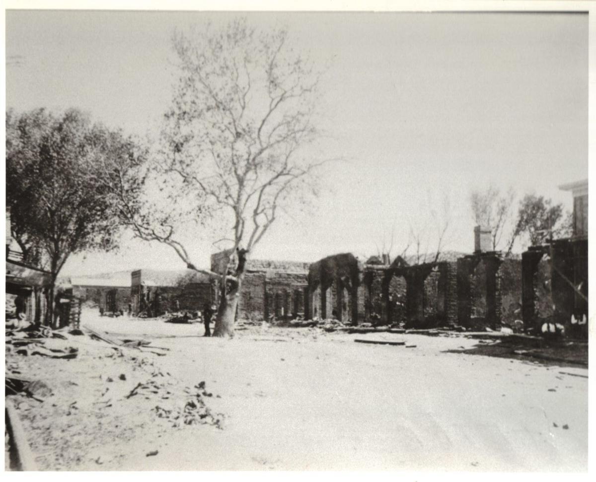 1894 Globe fire