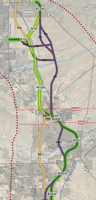 Freeway routes