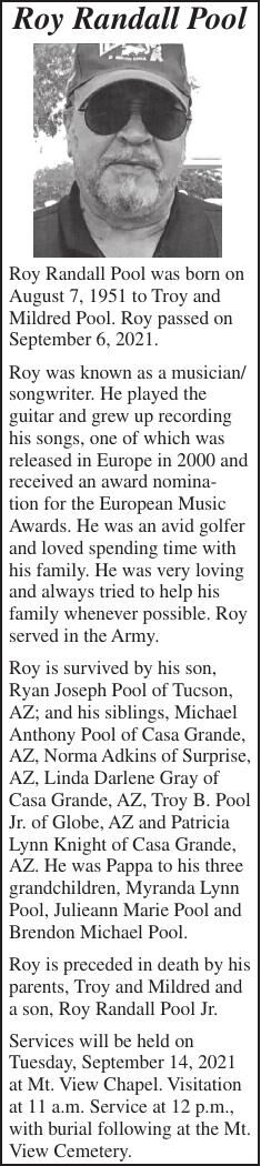 Roy Randall Pool