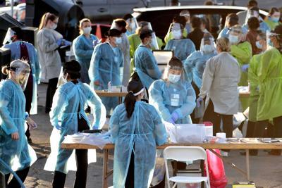 Virus Outbreak Testing Inequality