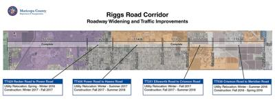 Riggs Road construction map