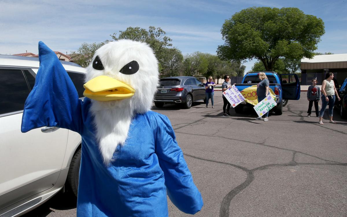 Ironwood elementary teachers parade