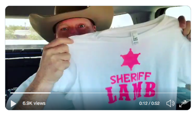 Sheriff Lamb T-Shirts