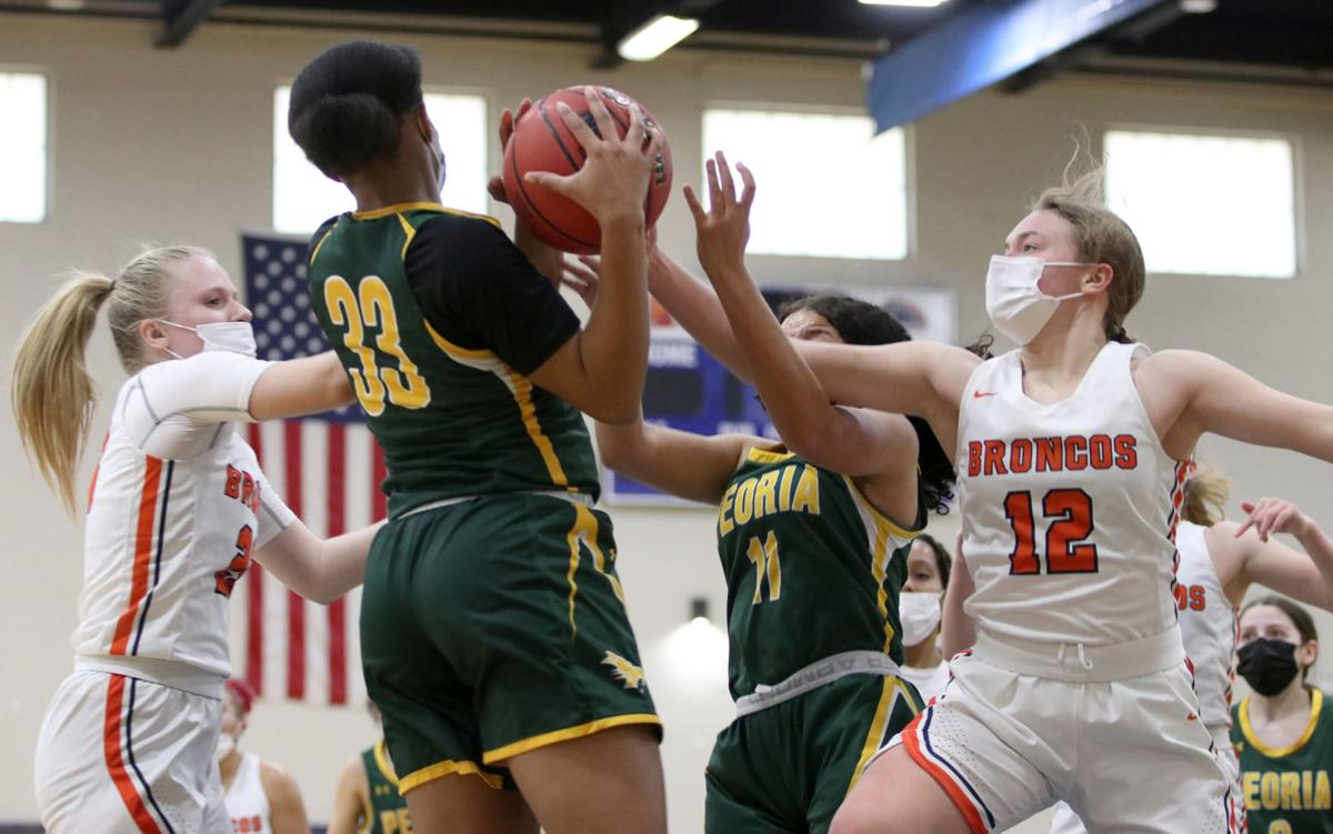 Girls basketball: Poston Butte vs. Peoria 2/15/21