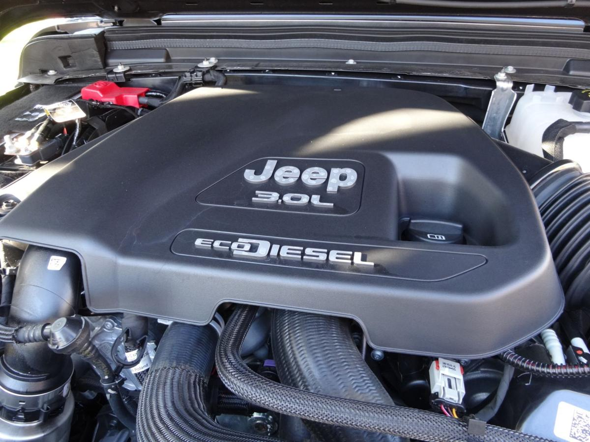 Jeep Gladiator engine