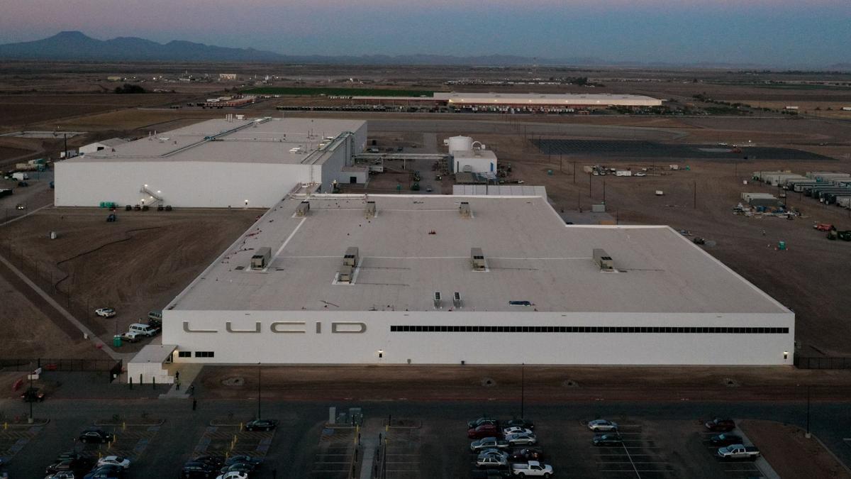 Lucid Motors Aerial