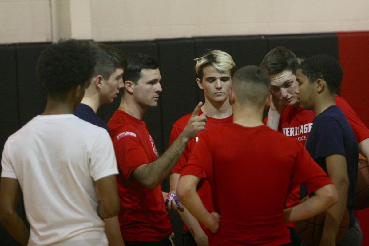 Heritage Academy basketball