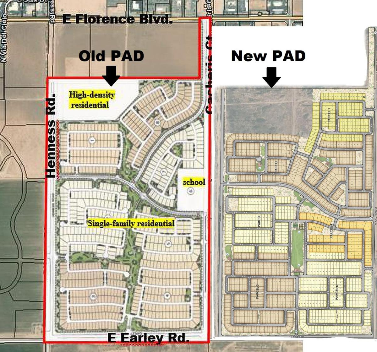 Sonoran Heights New and Old PAD Oct 2021
