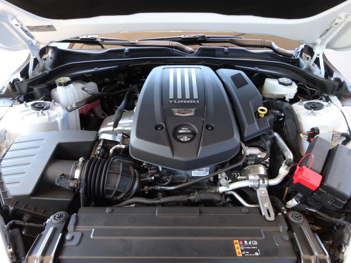 Cadillac CT4 engine