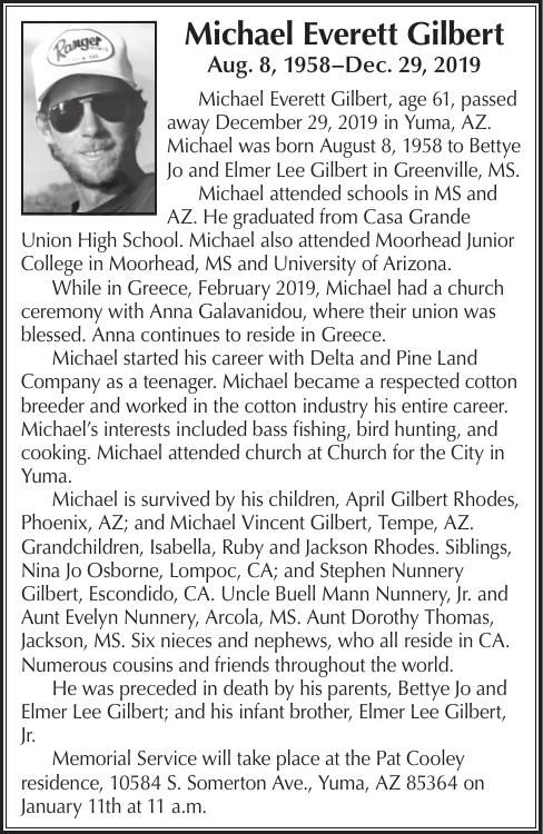 Michael Everett Gilbert