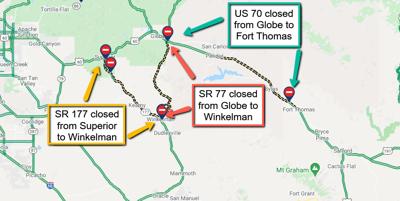 Highway closures
