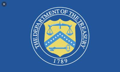 Treasury Department Logo