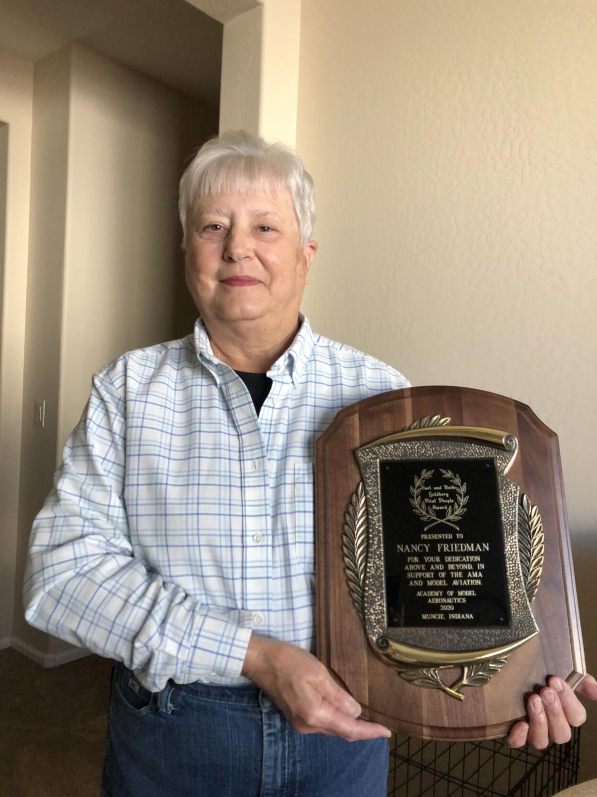 CG RC Flyers club officer wins national award
