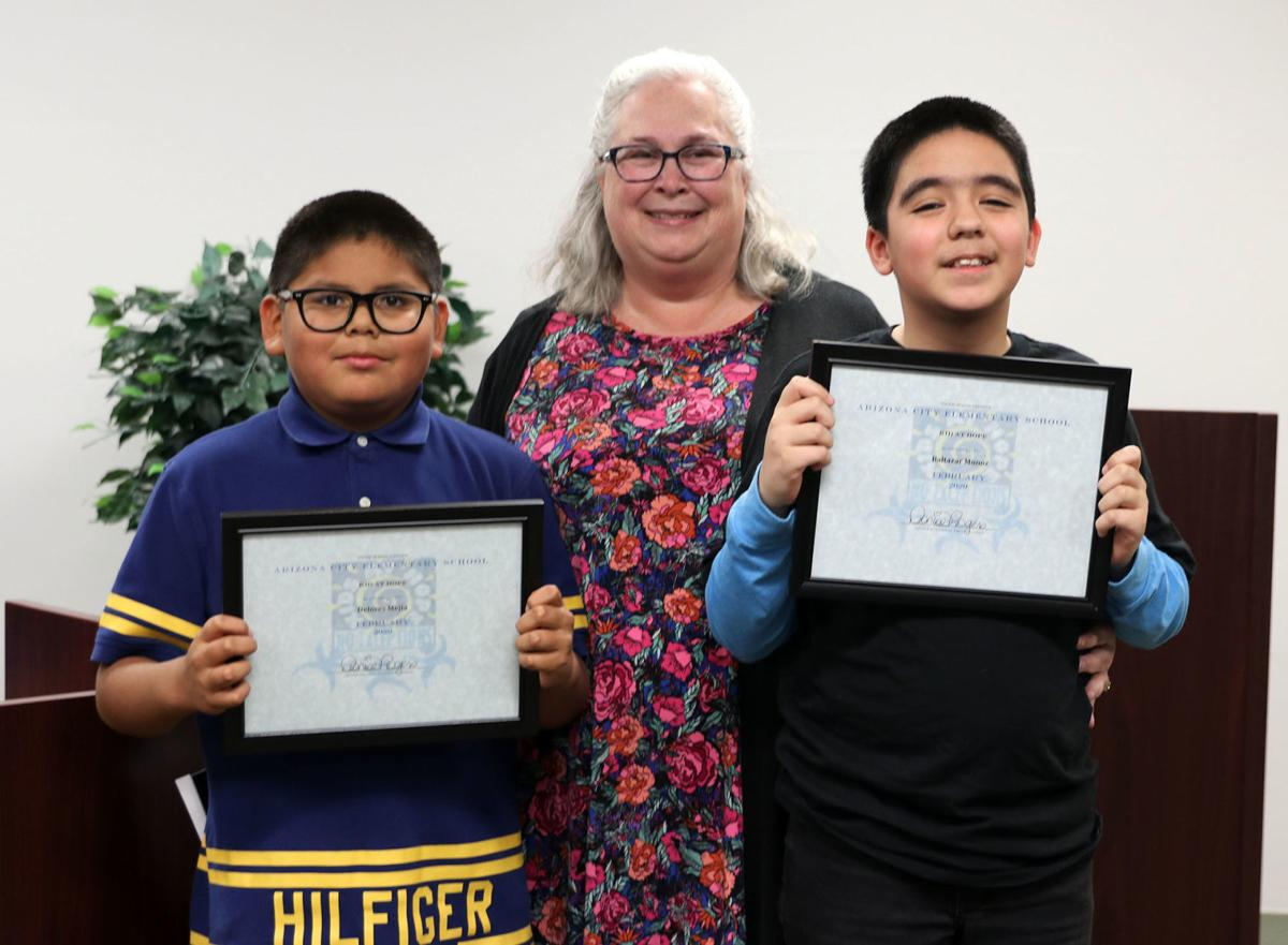 ACES February 2020 recognitions