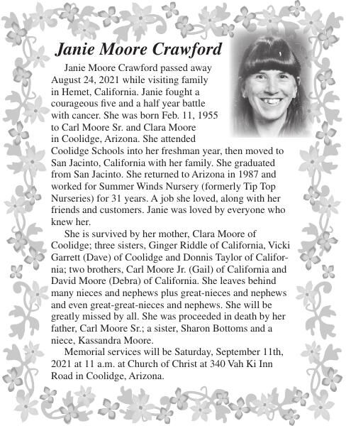 Janie Moore Crawford