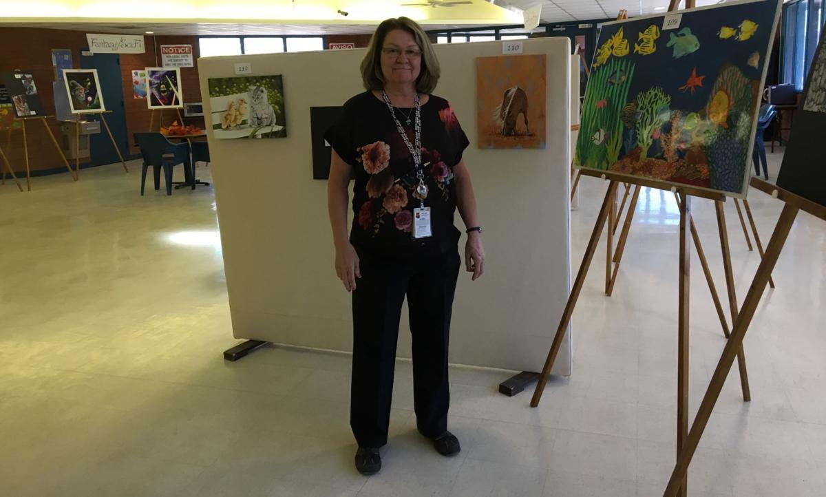 Prison art show