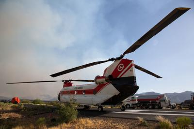 Woodbury Fire Helicopter
