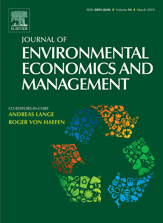 Journal of Environmental Economics and Management