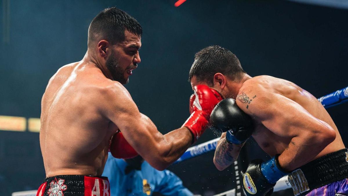 Abel Ramos vs. Omar Figueroa