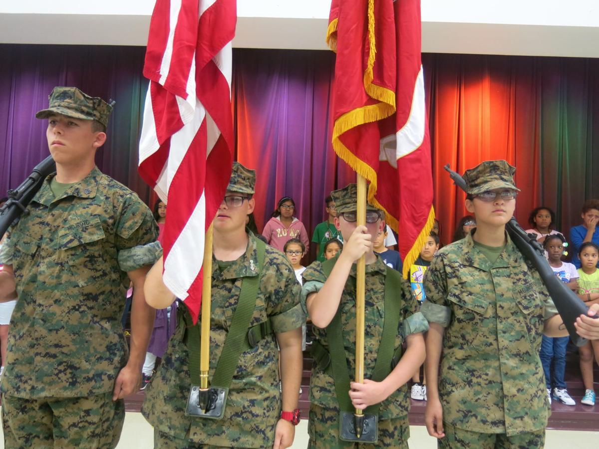 Heartland Ranch Veterans Day Assembly 11/07/19